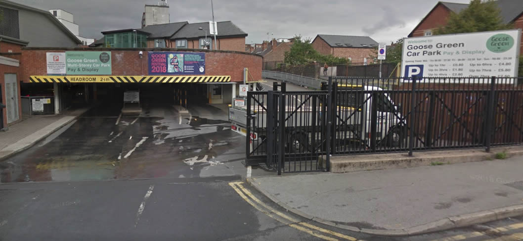 anger at altrincham car park issuing legitimate users with