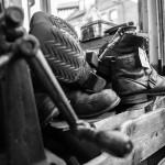Geoff Swain Shoe Repairer Inside the Shop 5