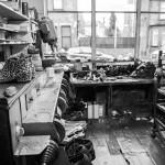 Geoff Swain Shoe Repairer Inside the Shop 3