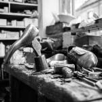 Geoff Swain Shoe Repairer Inside the Shop 2
