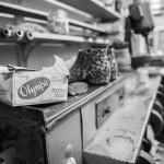 Geoff Swain Shoe Repairer Inside the Shop