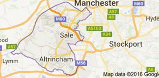 Trafford Map Google©