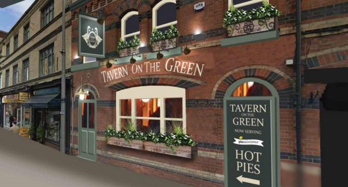 Tavern On The Green - Artists Impression