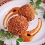 Cheese & Chorizo Croquette Balls