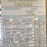 Old Market Tavern - Beer Menu