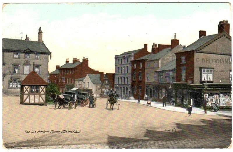 Old Market Tavern as The Unicorn 1880s