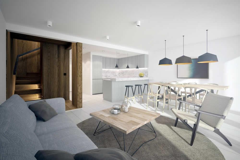 Alderbank Altrincham Living Area