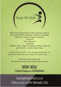Keep Fit Kids Exercise Class