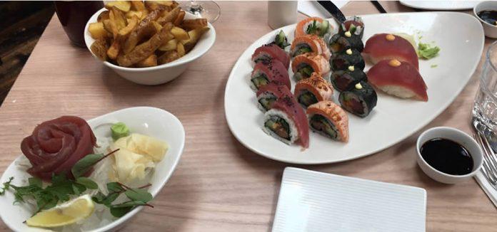 Con Club Altrincham sushi