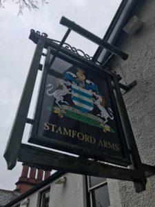 Stamford Arms Bowdon - Sign
