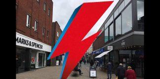 Bowie Lightening Bolt For Altrincham