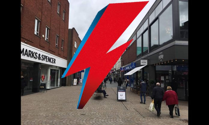 Bowie Lightening Bolt For Altrincham