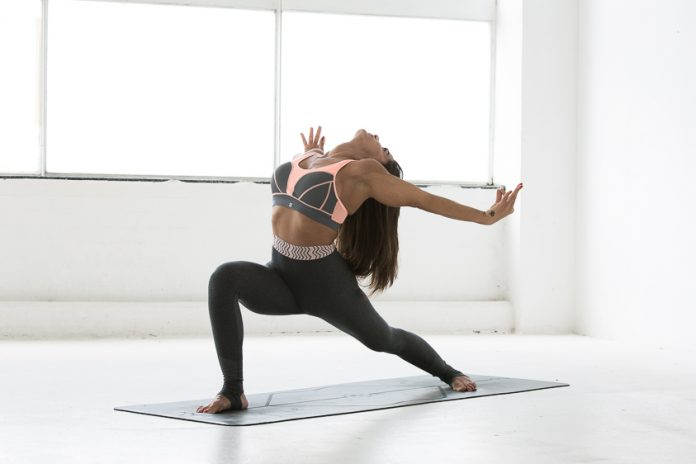 Rania Fawaz high lunge posture