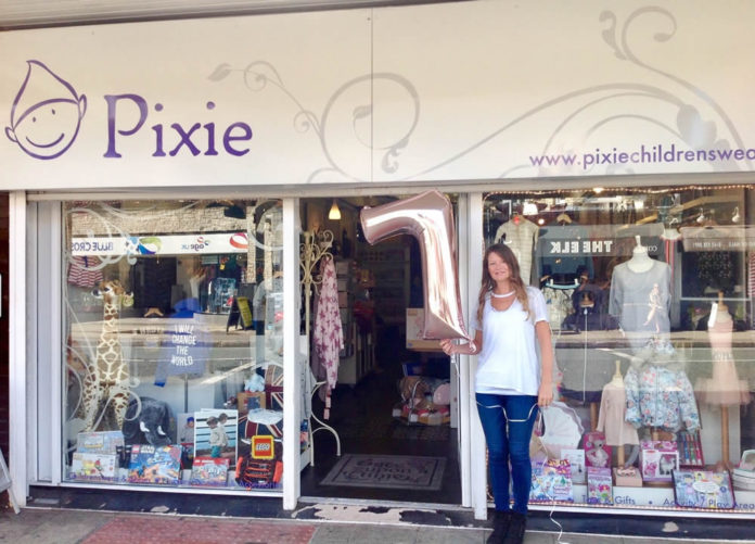 Pixie Childrenswear Celebrates 7th Birthday