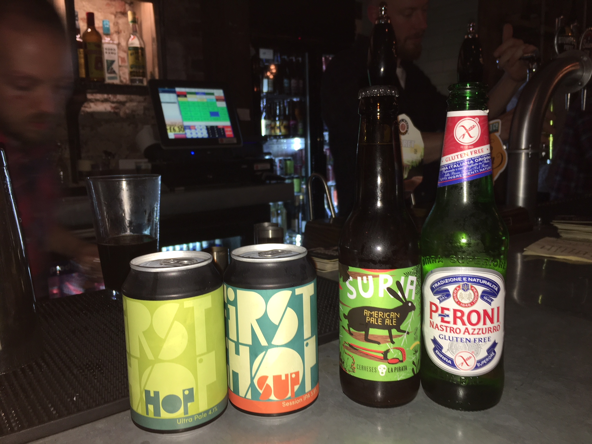 Gluten Free Beer At The Cheshire Tap Altrincham