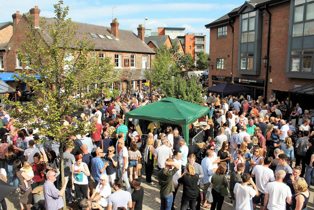 Goose Green Festival Crowd 2017