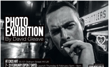 David Gleaver - Photo Exhibition - Cass Art, Manchester 7 Feb 2020