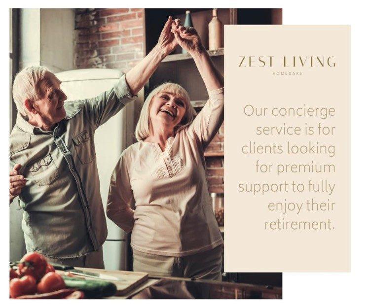 Concierge Services - Zest Living Homecare