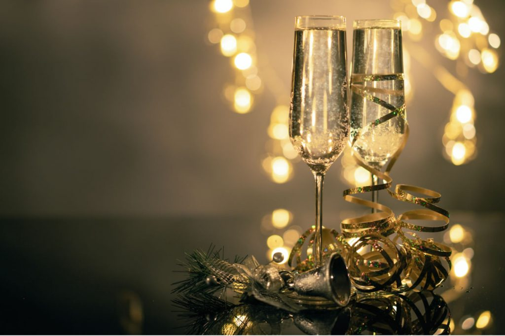 Freinds of Wine - Christmas Sparking Wine