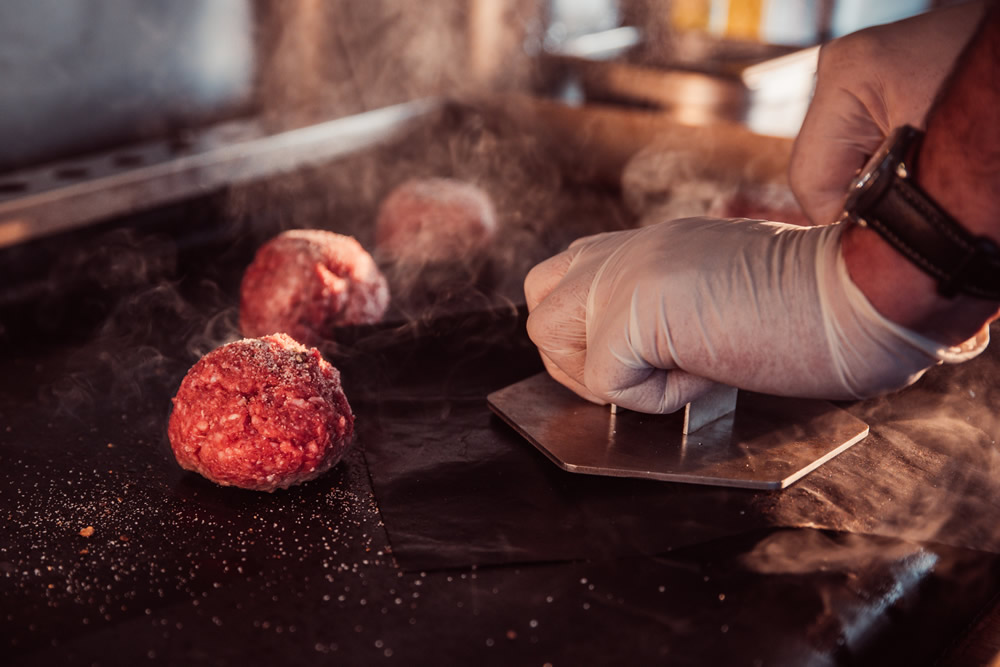 Smashed Burgers - Banksy's Street Food